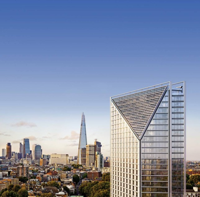 Two Fifty One Southwark Bridge is one of the big developments in the area (Pic: supplied)