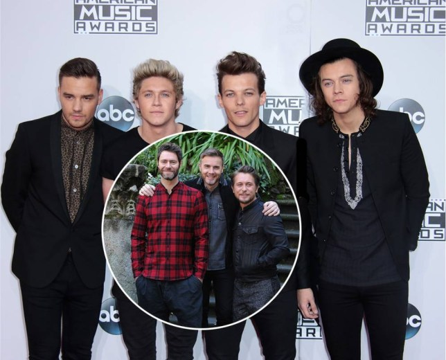 Could remaining One Direction members join forces with Take That