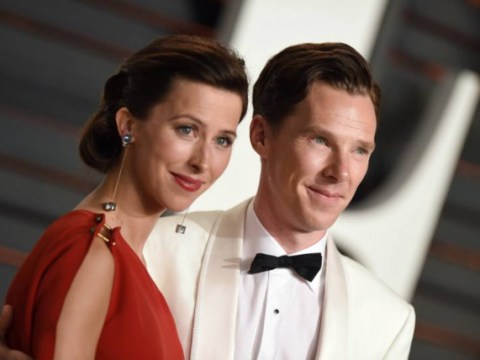 Benedict Cumberbatch and Sophie Hunter christened their son on the Isle Of Wight