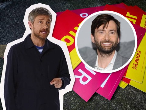 Labour goes for the nerd vote with Martin Freeman and David Tennant