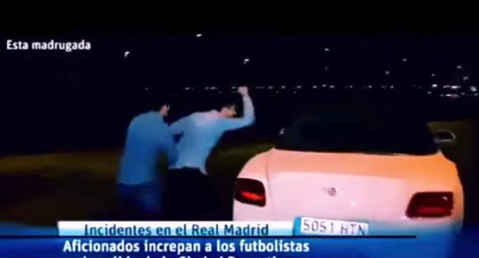Real Madrid suspend fan after Gareth Bale's car is attacked following El Clasico loss to Barcelona