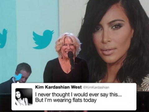 Bette Midler sang Kim Kardashian's tweets on Jimmy Kimmel Live and it was awesome
