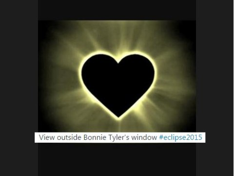 Twitter reacts to the eclipse with Bonnie Tyler obsession, obviously