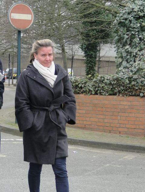 Billionaire's wife in court over '£4k scratch to Bentley'