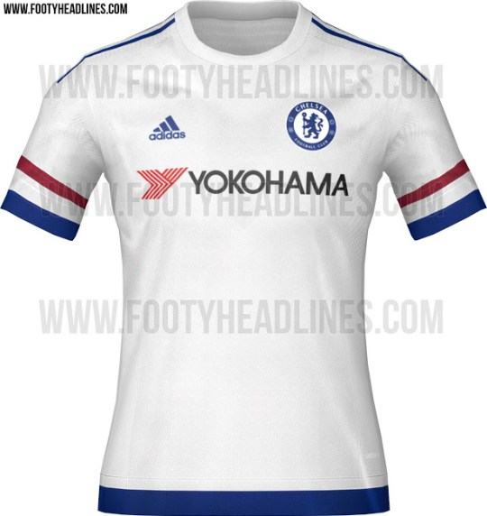 reputable site 875ee 1e74e Chelsea FC news: Blues' Chelsea's new 'French' 2015/16 ...