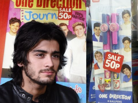 One Direction merchandise prices slashed by Poundworld after Zayn Malik's departure