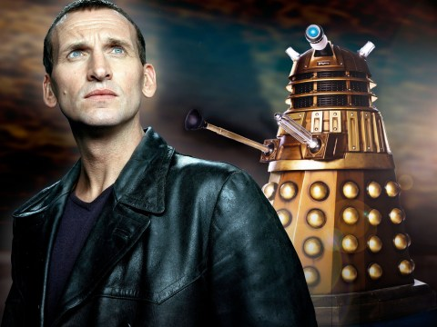 Former Doctor Who star Christopher Eccleston reprises his role as ninth Doctor in message for sick fan