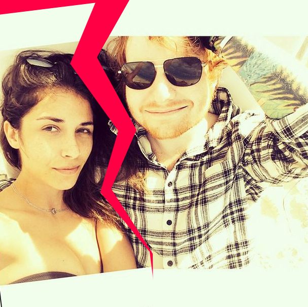 Ed Sheeran has split from girlfriend Athina Andrelos
