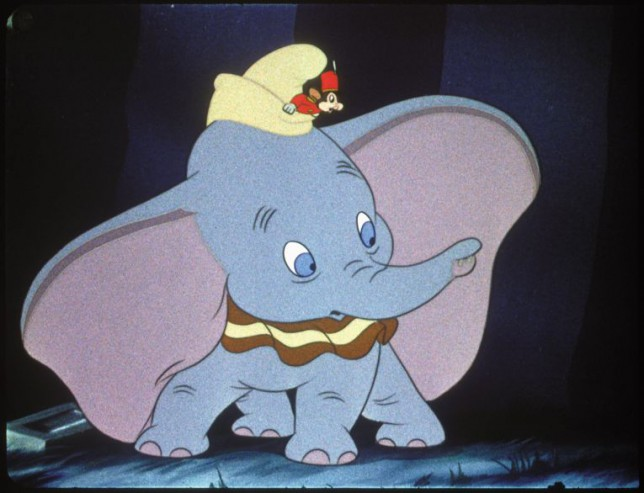 Classic: Dumbo will be remade as a live-action movie with CGI characters (Picture: Disney)