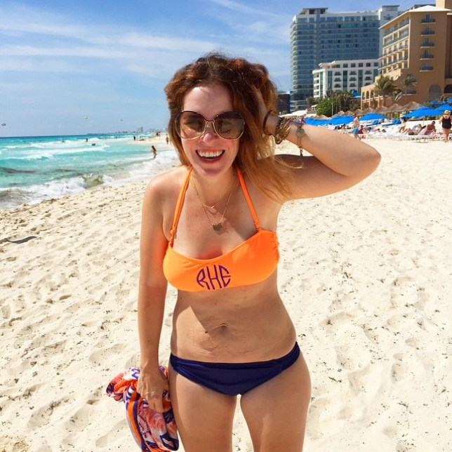 Mum-of-three Rachel Hollis' bikini pic of her post-pregnancy