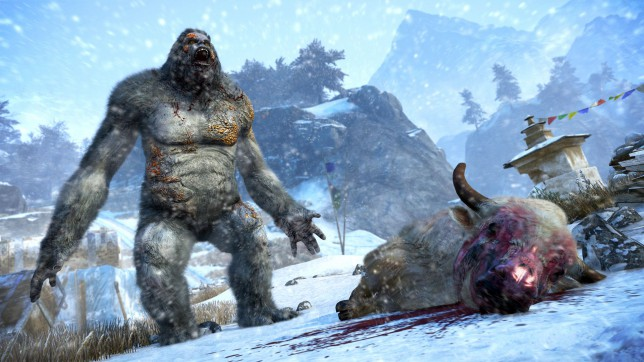 Far Cry 4: Valley Of The Yetis (PS4) - and yeti moves