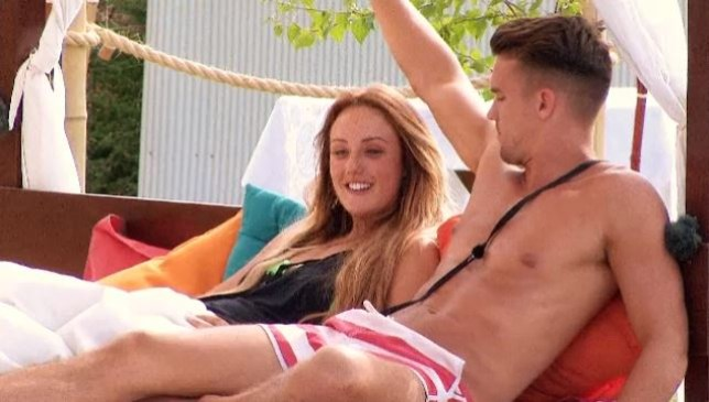 Gaz and Charlotte Ex On The Beach (Picture: MTV)