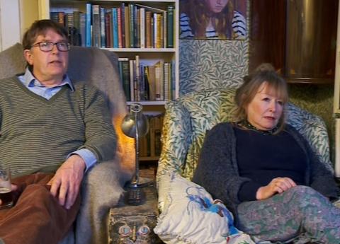Gogglebox: New guy Giles makes epic Rolf Harris joke, wins over the nation