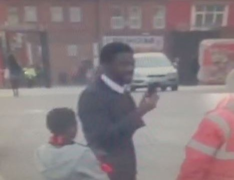 Liverpool's Kolo Toure appears to lock himself out of his car after Manchester United loss