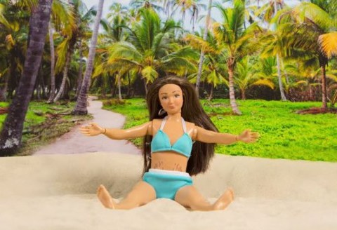 'Normal' Barbie doll Lammily tackles women's bikini body woes