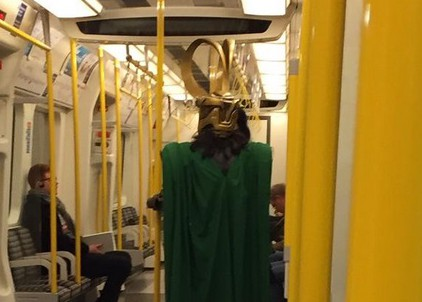 Would you give up your seat for Marvel villain Loki?