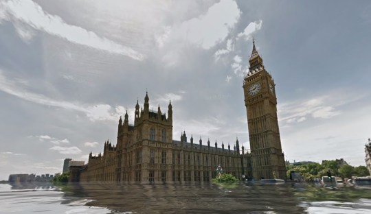 Terrifying, but it could soon be reality (Picture: Google Maps)