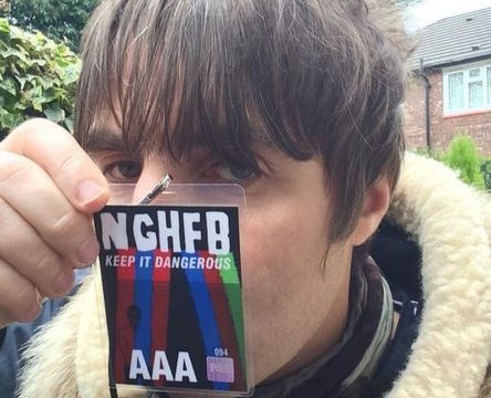 Liam Gallagher hints family feud with Noel is finally OVER  after posting selfie with High Flying Birds VIP ticket
