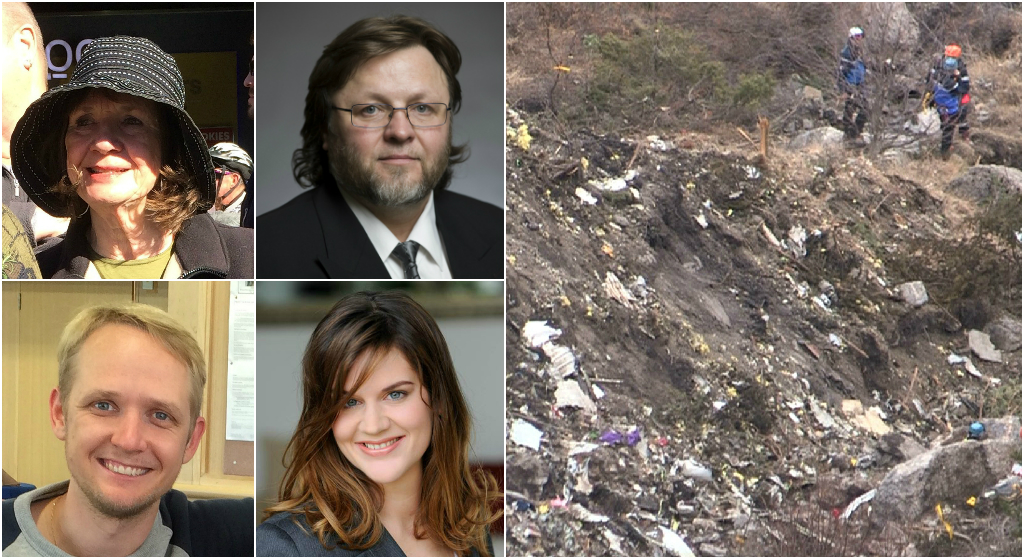 Victims of French Alps crash: Search continues in Germanwings plane wreckage