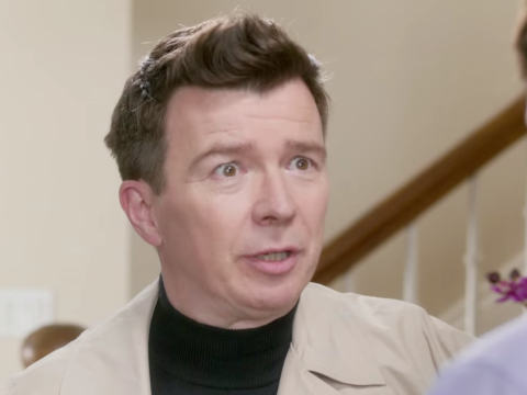 Rick Astley has finally found a reason to give everything up in this advert for Virgin Mobile