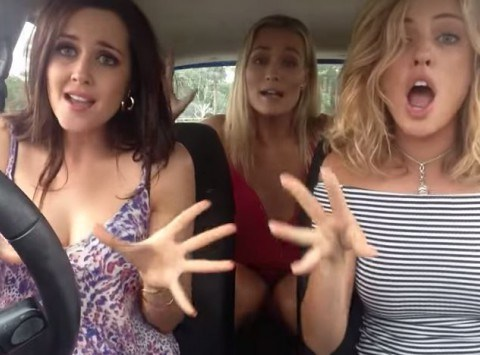 Bohemian Carsody: Just three girls in a car lip-syncing to Queen, what more could you want?