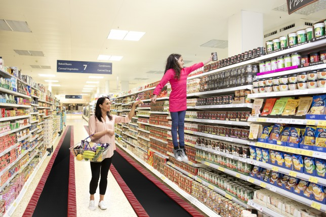 Tesco trialling bouncy aisles is the April Fools' we actually want to be real