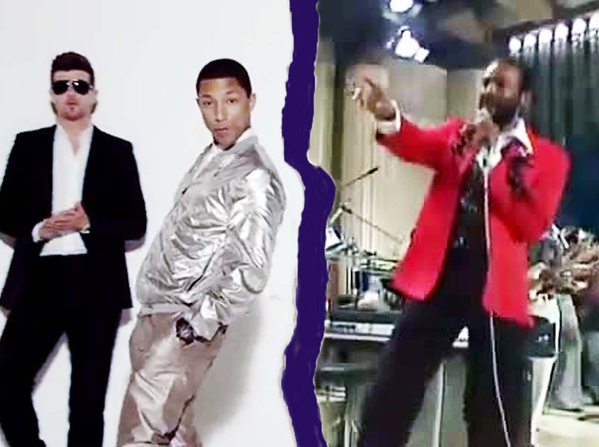Robin Thicke and Pharrell Williams' Blurred Lines v Marvin Gaye's Got To Give It Up – just how similar ARE the two tracks?