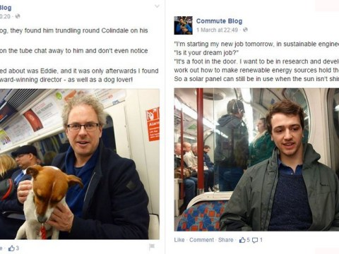 This is what happened when a blogger spoke to strangers on her commute