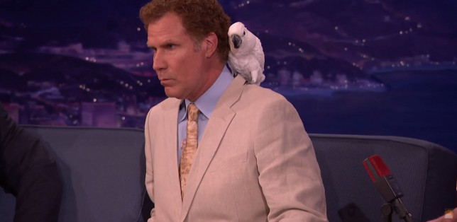Will Ferrell gets mad over personal questions in Conan O'Brien interview – because they upset Professor Feathers