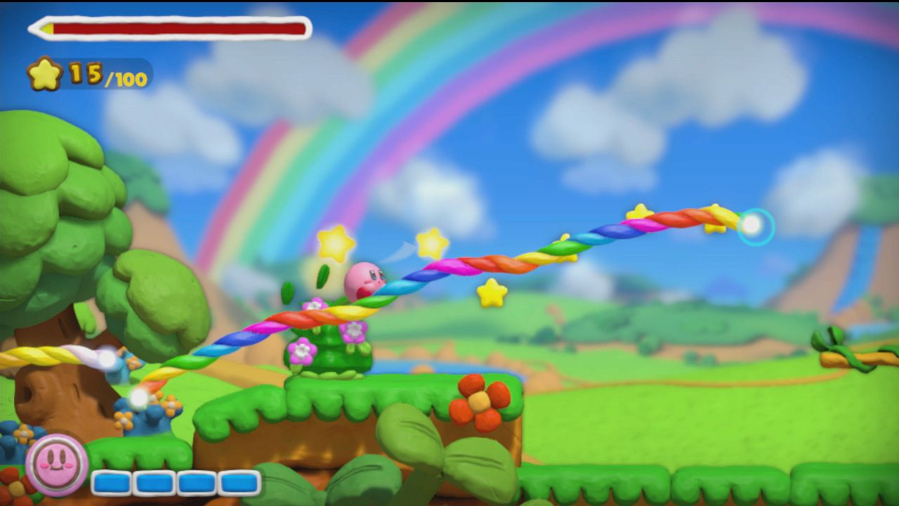 Kirby And The Rainbow Paintbrush (Wii U) - back to the drawing board