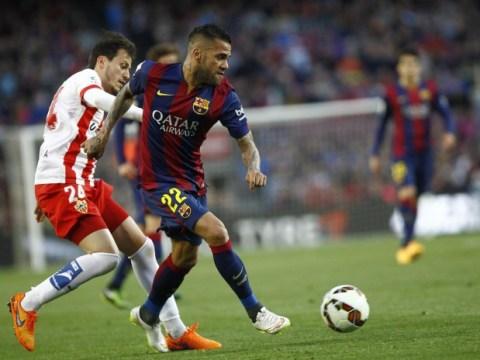 Liverpool 'make transfer offer to sign Barcelona's Dani Alves'