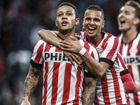 PSV 'give Liverpool permission to open transfer talks for Manchester United target Memphis Depay'