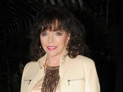 What a Dame: Joan Collins takes to Twitter to clarify why she was NOT arrested