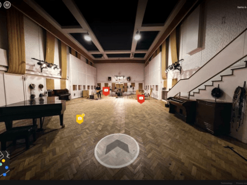 Now anyone can take a free tour of the famous Abbey Road studios