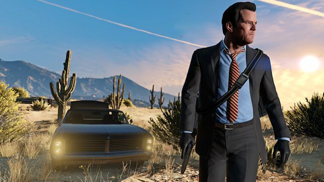 Grand Theft Auto V - great game but is it a great story?