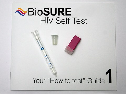 The world's first HIV self-testing kit is being launched