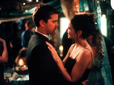 Joey Potter wasn't meant to end up with Pacey Witter in the original Dawson's Creek finale