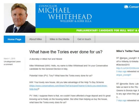 Ukip announces Tory 'defection'… but he had actually been sacked