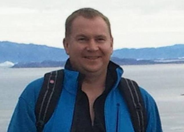 Iain MacKay, 40, is believed to have been severely injured kicking a mirror in a shop where his girlfriend works, Thai police stated. Facebook