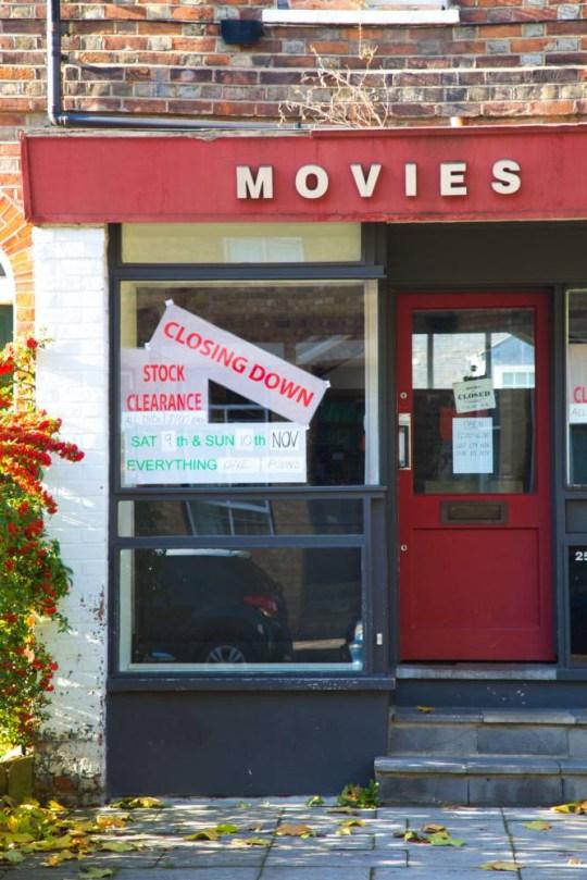 local video rental store