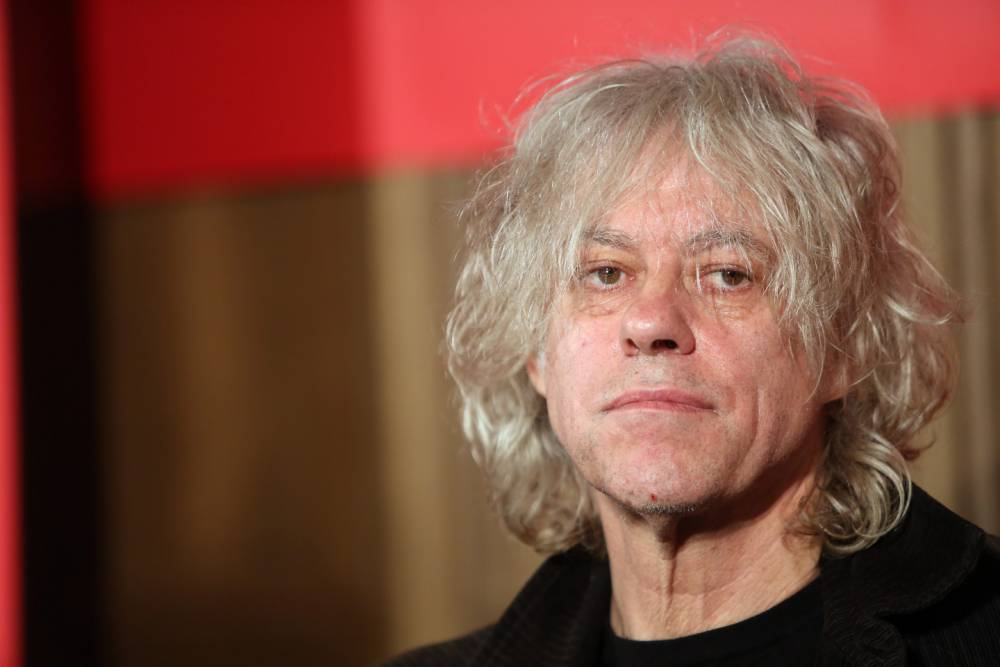 Bob Geldof pledges to take four refugee families into his homes as he hits out at 'sickening disgrace' of the crisis