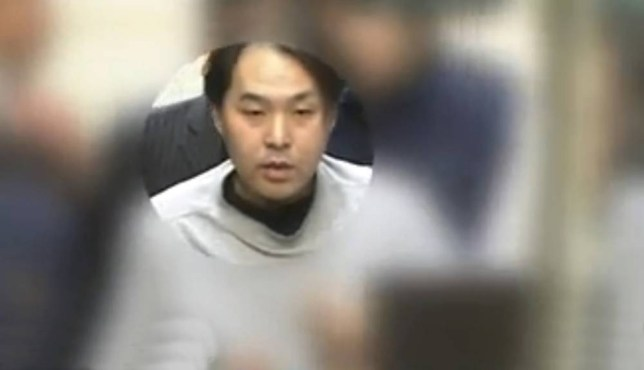 """Pic shows: Weirdo Tetsuya Fukuda was arrested for ejaculating on women on a train line in Japan.nnA perverted middle-aged man has been arrested for ejaculating on unsuspecting women more than 100 times on a train line in Japan.nnWeirdo Tetsuya Fukuda, 40, preyed mostly on young girls during a four year rein of abuse on the Japanese JR Sobu Line.nnHe was finally caught when cops carried out a DNA analysis of his semen after an 18¿year-old schoolgirl discovered it on her skirt and went to authorities.nnThe warped fiend even cut a hole in his jackets so that he could play with his private parts on crowded trains between between Kinshicho and Akihabara stations in the capital Tokyo, in central Japan's Kanto Region, on Honshu Island.nnBalding Fukuda is from Edogawa ward in the city.nnAnother victim Ria Yoneda, 26, who came forward after publicity about the case, said: """"It happened to me as well but I didn¿t know who had done it. It is just disgusting, he needs help.""""nnFukuda has been charged with damaging property and has admitted carrying out the semen attacks on the train line more than 100 times since 2011.nnHe told policemen when he was arrested: """"I get excited when in close contact with a woman on a crowded train.""""nnHe is expected to appear in court soon to face sentencing for damaging property.nn (ends)n"""