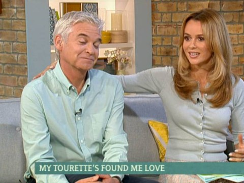 Tourette's sufferer Ellie Grant embarrasses Phillip Schofield with 'silver fox' outburst on This Morning