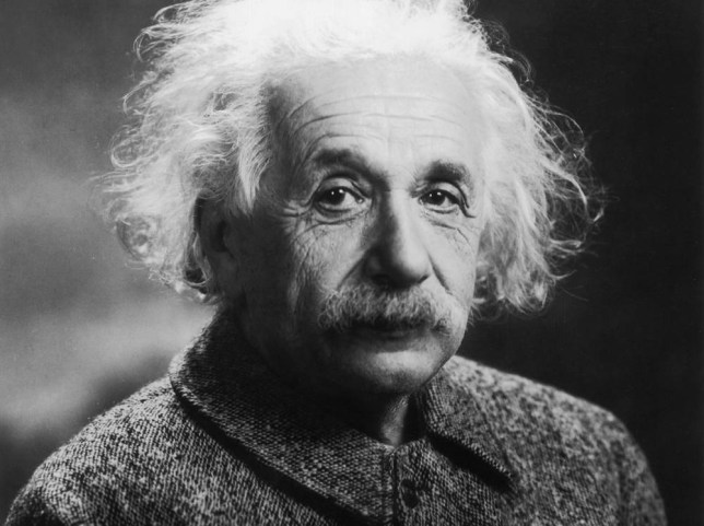 circa 1939:  German-born physicist Albert Einstein (1879 - 1955), who developed the Theory of Relativity. He moved to Princeton, New Jersey in 1933, when Hitler came to power, and recommended the construction of an American atomic bomb.  (Photo by MPI/Getty Images)