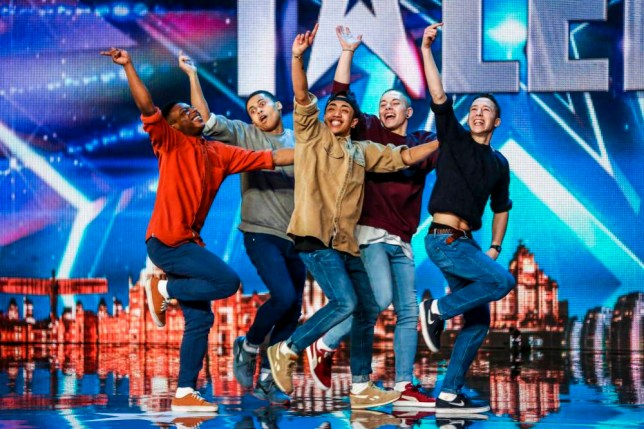 Britain's Got Talent dance act Boyband have allegedly