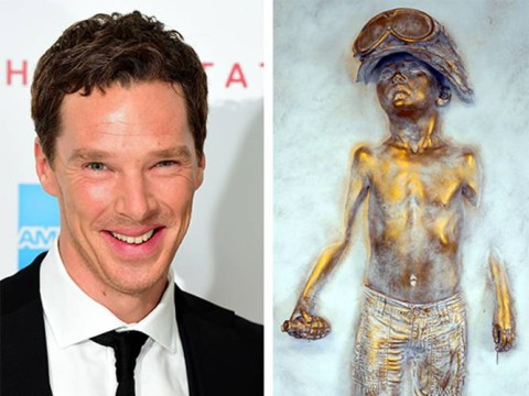 Benedict Cumberbatch blows £7,000 on replica of Boy Soldier sculpture featured in Kick Ass 2