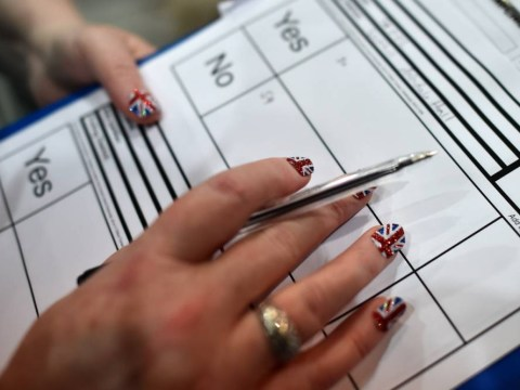 What can and can't you do in a polling station?