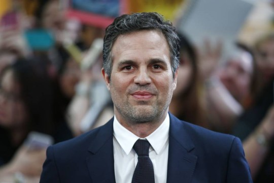 US actor Mark Ruffalo poses on the red carpet for the European premiere of the film 'Avengers: Age of Ultron' in London on April 21, 2015. AFP PHOTO / JUSTIN TALLISJUSTIN TALLIS/AFP/Getty Images