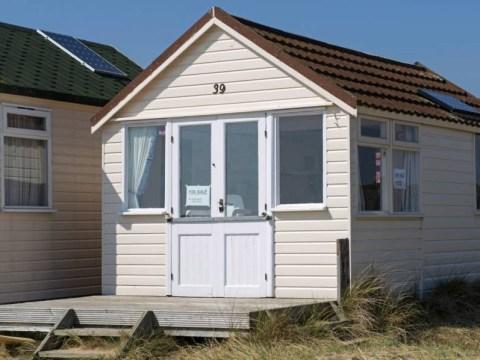 Dorset beach hut on sale for £230,000