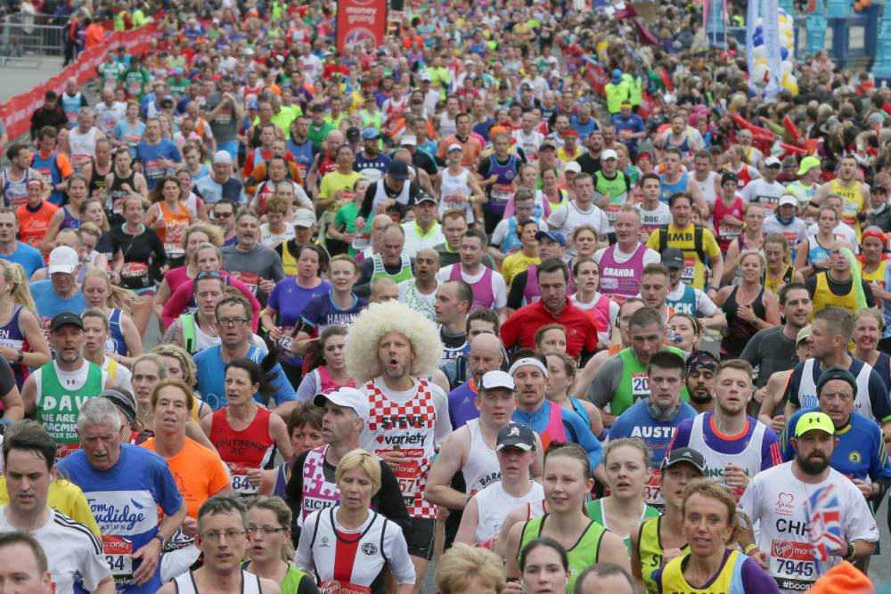 London Marathon 2016: 23 stages you go through watching the race